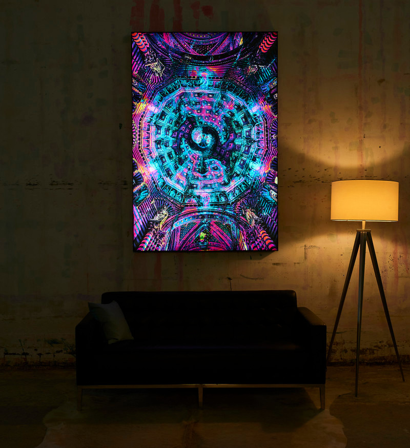Newsroom - Press release - Big Naked Wall Creates New Art Category with Backlit Frames - Big Naked Wall