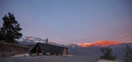 Newsroom - Press release - Mountaineer's Refuge - Gonzalo Iturriaga Arquitectos