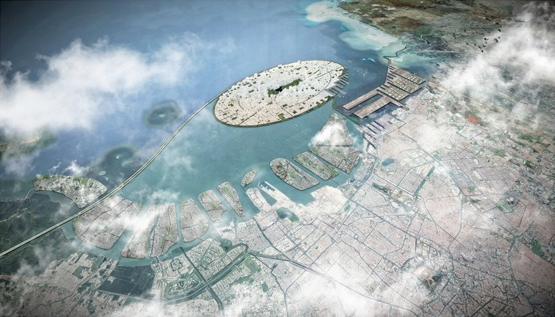 Newsroom - Press release - A 58 km2 Visionary Master Plan, Jakarta Jaya: the Green Manhattan, Wins a WAFX Prize - SHAU