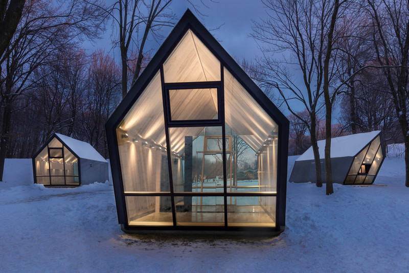 Press kit - Press release - Mount-Royal Kiosks – Moved by the Landscape - Atelier Urban Face