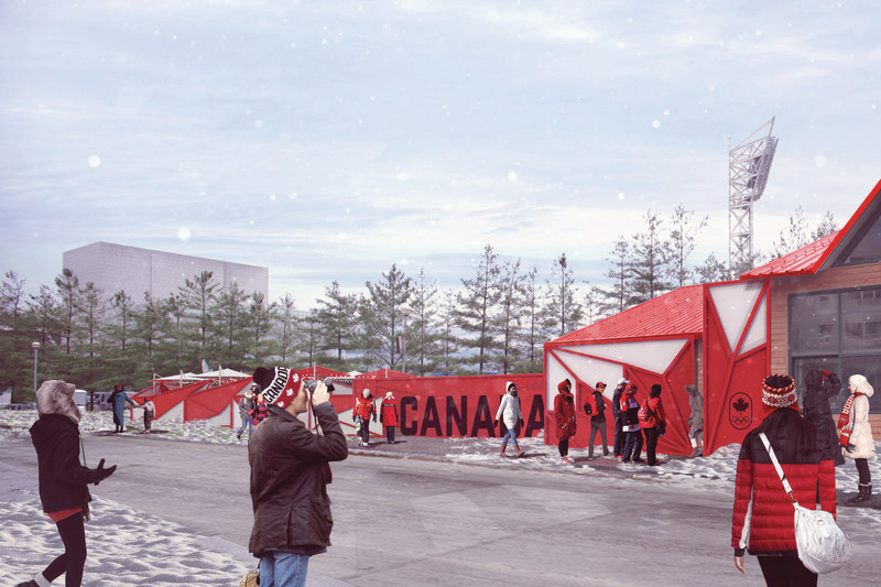 Press kit - Press release - Sid Lee Architecture, Official Partner of the Canadian Olympic Committee - Sid Lee Architecture