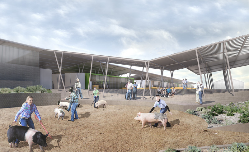 Dossier de presse - Communiqué de presse - Coachella Valley High School Agriculture + Natural Resources Academy - PJHM Architects