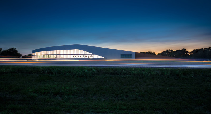 Salle de presse - Communiqué de presse - Maryland Heights Community Recreation Center - CannonDesign