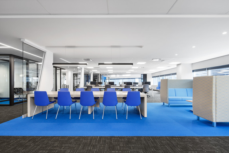 Newsroom - Press release - National Bank's Dynamic New Workspace - VAD Designers d'espaces