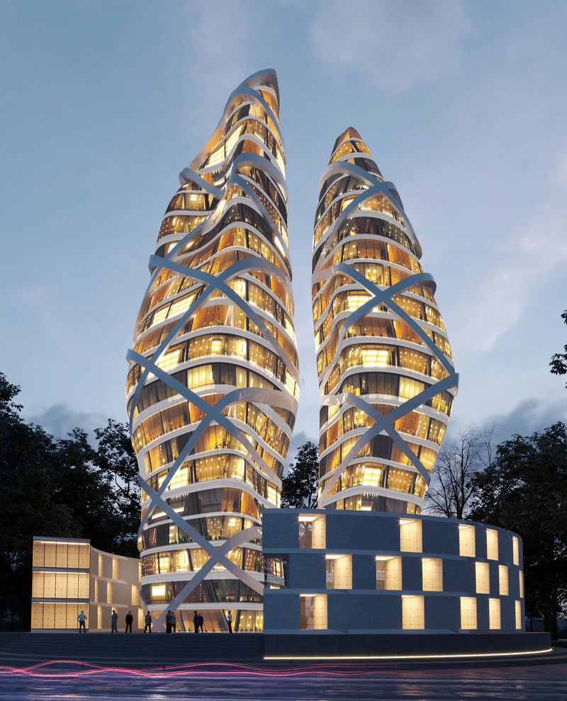 Press kit - Press release - Towers of Love - Alva Roy Architects