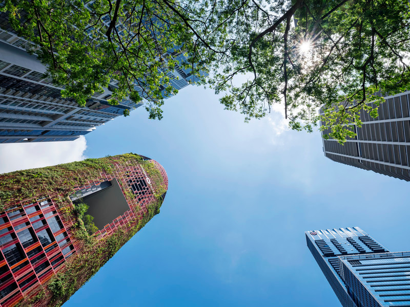 Newsroom - Press release - A Tropical Skyscraper by WOHA and Patricia Urquiola: Sustainability and Delight - AGROB BUCHTAL