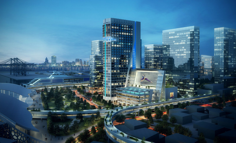 Newsroom - Press release - John Portman & Associates Designs Iconic Landmark for Shenzhen, China - John Portman & Associates