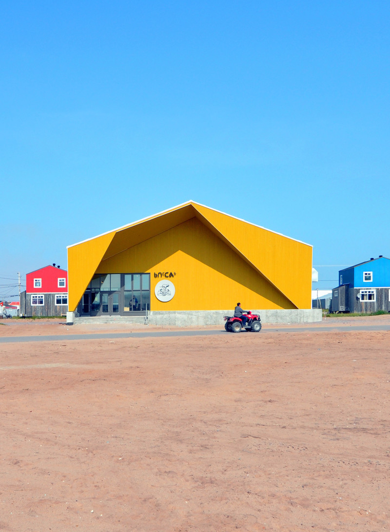 Press kit - Press release - Nunavik's New Cultural Centre Opens Its Doors - Blouin Orzes architectes
