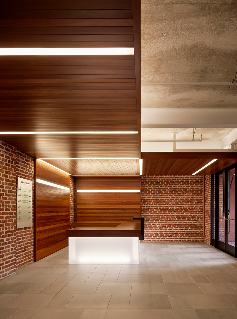 Newsroom - Press release - The Italian Swiss Colony Building Lobby Receives AIA SF Award - jones | haydu