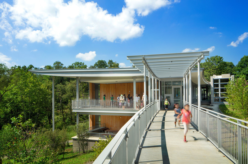 Newsroom - Press release - Frick Environmental Center Achieves Prestigious Living Building Certification - Bohlin Cywinski Jackson