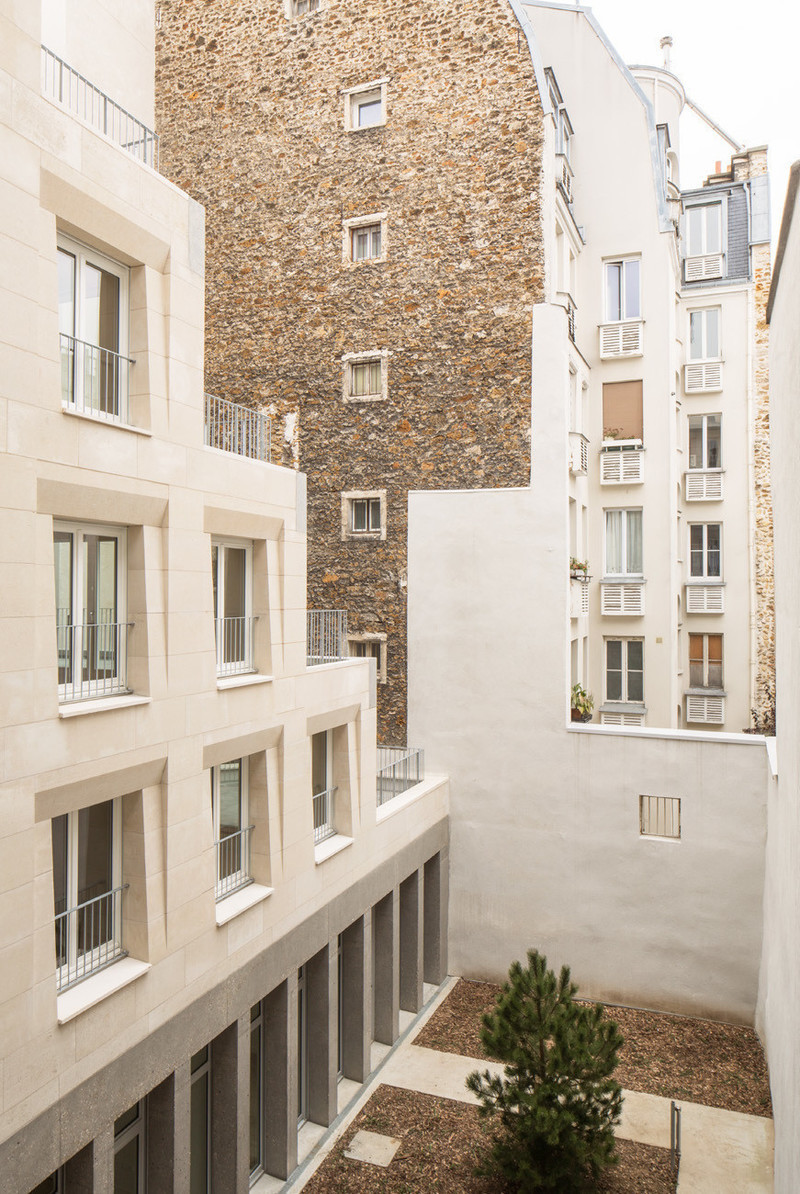 Newsroom - Press release - Social Housing Units in Massive Stone - Barrault Pressacco architectes