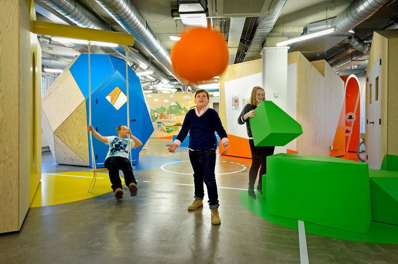 Salle de presse - Communiqué de presse - Le « Centre for Overweight Adolescent and Children's Healthcare » de MaastrichtUMC+, un centre ludique et interactif, est lauréat aux European Healthcare Design Awards 2018 - Tinker imagineers