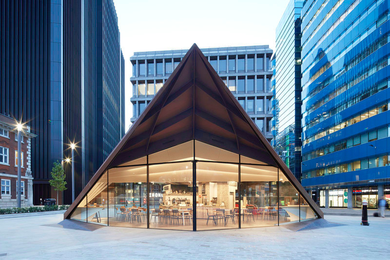 Press kit - Press release - Make Unveils New Monocoque Pavilion for City of London - Make Architects