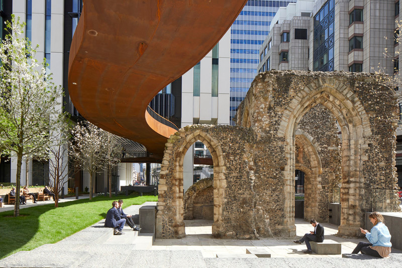 Newsroom - Press release - London Wall Place:Building on history - Make Architects