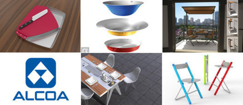 Press kit - Press release - Alcoa Canada design contest finalists unveiledTable set for the grand finale! - Alcoa Canada Groupe Produits primaires