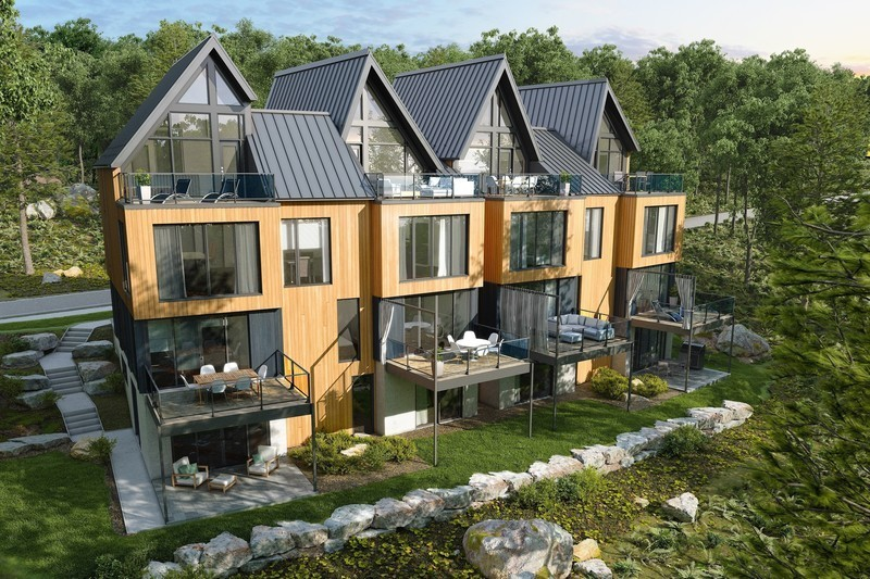 Newsroom - Press release - Official Launch of Arborescence, a New Mountain Condo Development in Bromont - KnightsBridge