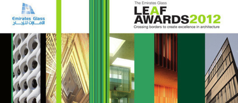 Press kit - Press release - 2012 Shortlist Revealed! - The Emirates Glass LEAF Awards