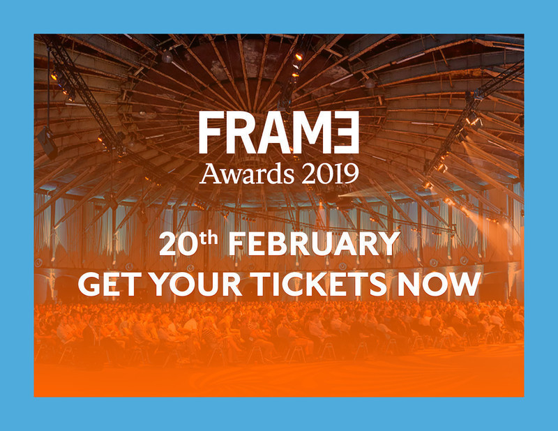 Press kit - Press release - Announcing the Nominees of the Frame Awards 2019 - Frame
