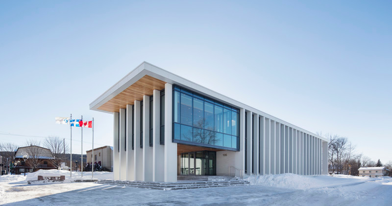 Newsroom - Press release - Rigaud City Hall - Affleck de la Riva architects