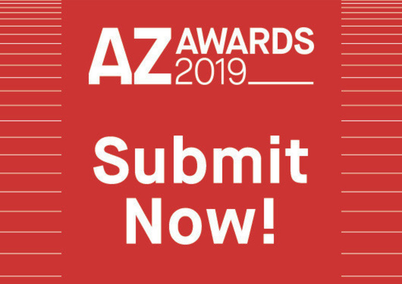 Press kit - Press release - The Ninth Annual AZ Awards is Now Open for Submissions - Azure Magazine