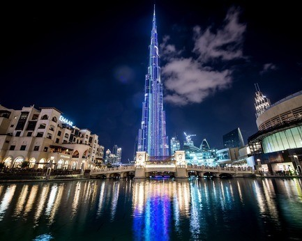 Newsroom - Press release - SACO Technologies Inc. celebrates the 1 year anniversary of a living masterpiece - the tallest media façade on the planet on Burj Khalifa in Dubai, UAE - SACO Technologies Inc.
