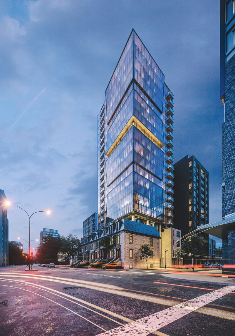 Newsroom - Press release - ENTICY, a new boutique condo project in downtown Montreal - Claridge-Omnia Technologies-Geiger Huot