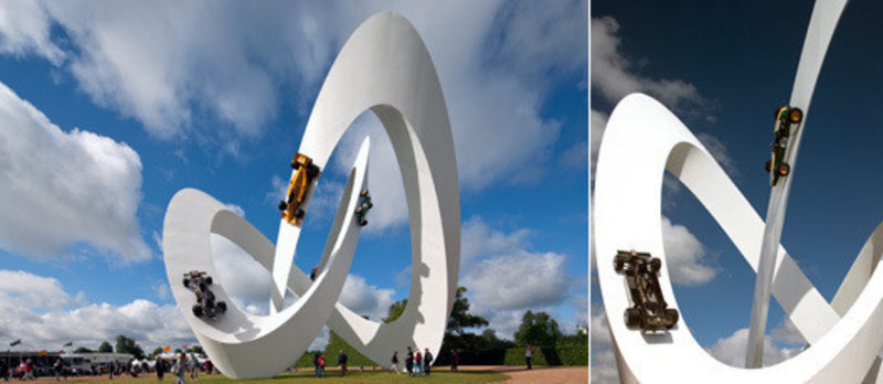 Press kit - Press release - Lotus sculpture for the Goodwood Festival of Speed 2012 - Gerry Judah