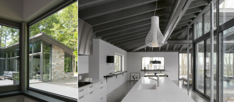Press kit - Press release - Bromont House - Paul Bernier Architecte