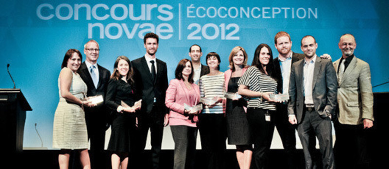 Newsroom - Press release - Announcement of the winners of the second edition of the Quebec Competition in ecodesign - Novae