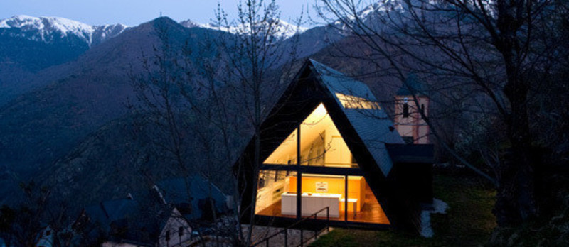 Press kit - Press release - House at the Pyrenees - Cadaval & Solà-Morales