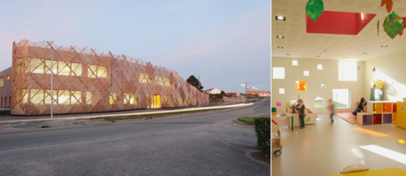 Newsroom - Press release - Family creche in Drulingen - Fluor Architecture