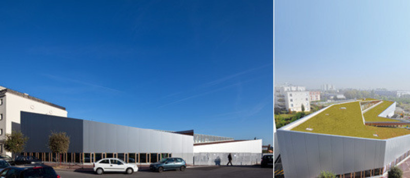 Press kit - Press release - A small school in the Grand Paris - Hubert & Roy architectes et associés