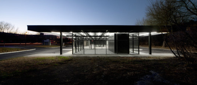 Press kit - Press release - Conversion of Mies van der Rohe gas station on Nuns Island - Les architectes FABG