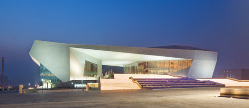 Press kit - Press release - The Shanxi Grand Theater, in Taiyuan (China) - Arte Charpentier Architectes