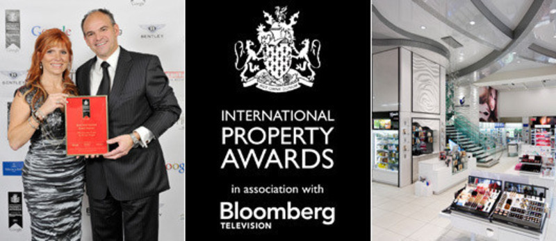 Newsroom - Press release - Groupe Chagall won Best International Retail Interior At The International Property Awards Winners in London - Chagall Design