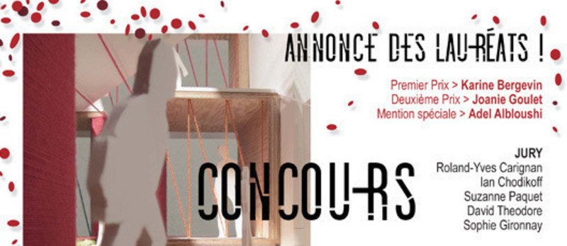 Newsroom - Press release - Announcement of the laureates ofMAQ Young Architectural Critic - La Maison de l'architecture du Québec (MAQ)