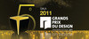 Press kit - Press release - Evening of the 5th edition of the GRANDS PRIX DU DESIGN - Agence PID