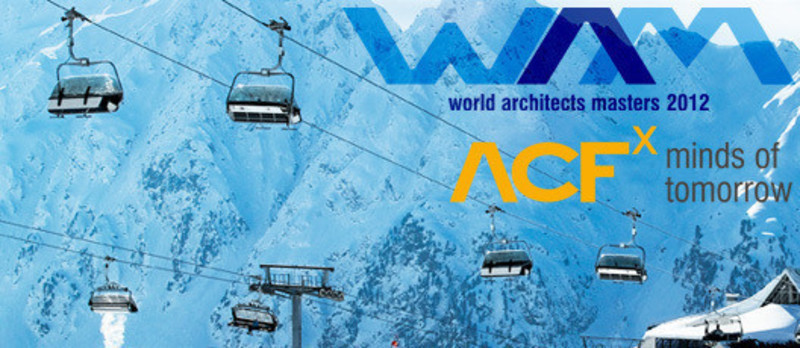 Newsroom - Press release - WAM open 2012: Conference and Competition on the highest Level in Ischgl - World Architects Masters