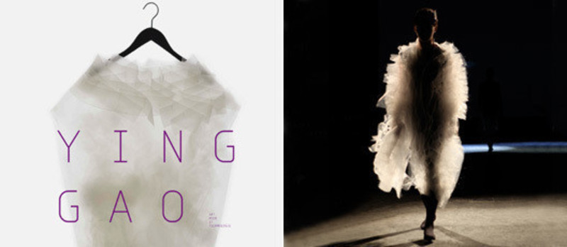 Newsroom - Press release - Ying Gao: Art, Fashion and Technology - Ying Gao