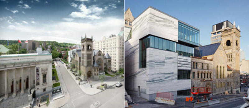 Newsroom - Press release - The Montreal Museum of Fine Arts unveils the architecture of its new pavilion ofQuebec and Canadian Art and of its new concert hall - Montreal Museum of Fine Arts (MMFA)