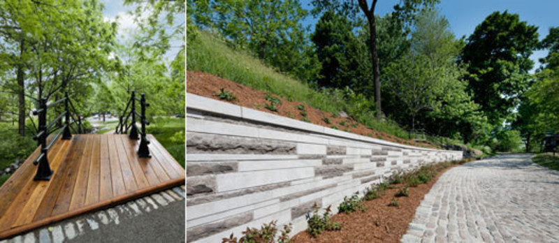 Press kit - Press release - Peel Entrance – Mount Royal Park - Lemay+CHA (Lemay)