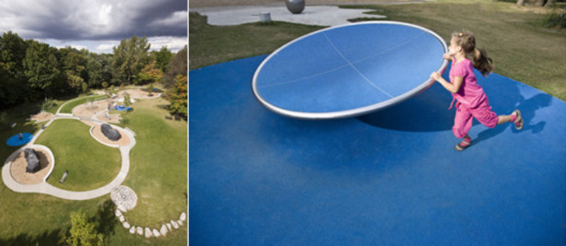 Press kit - Press release - Mount-Royal Park's playground - Groupe IBI-CHBA (Lemay)