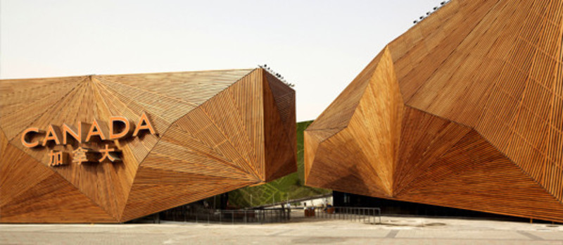 Newsroom - Press release - Canadian Pavilion at the Shanghai world expo 2010 - Saia Barbarese Topouzanov architectes