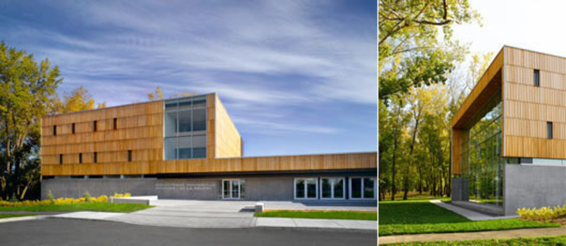 Newsroom - Press release - The Montarville - Boucher De la Bruère Public Library - BGLA | Architecture + Design urbain