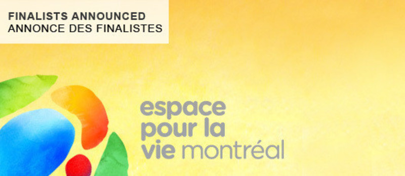 Newsroom - Press release - Montréal announces the names of the finalists in the Space for Life architecture competition - Bureau du design - Ville de Montréal