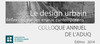 Press kit - Press release - Urban Design - Reflection on contemporary issues - Association du design urbain du Québec (ADUQ)
