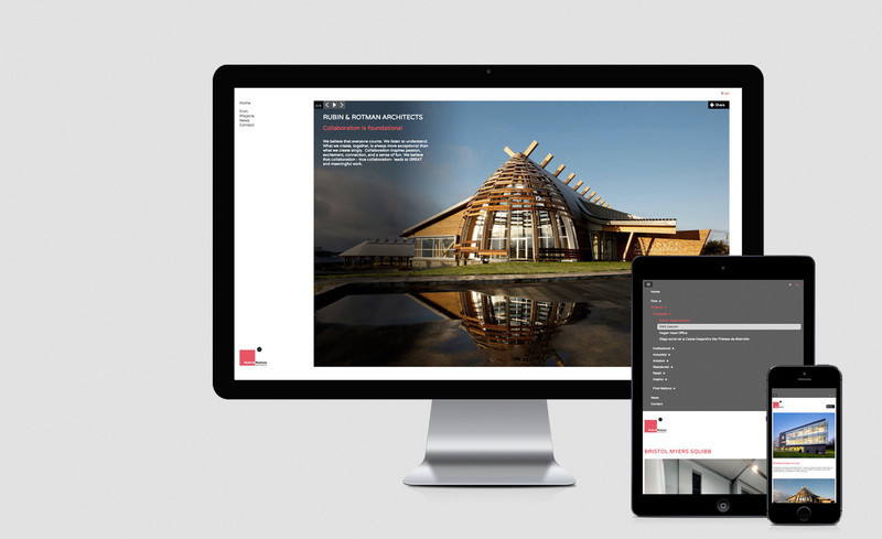 Press kit - Press release - New website for Rubin & Rotman Architects - Rubin & Rotman Architects