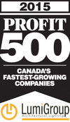 Press kit - Press release - LumiGroup ranks No. 370 on the 2015 PROFIT 500 - LumiGroup