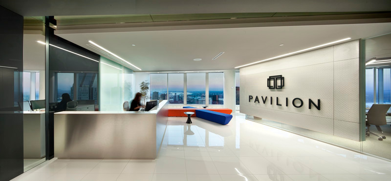 Press kit - Press release - Monochrome tones, light and shadow for Pavilion Financial Corporation - LumiGroup