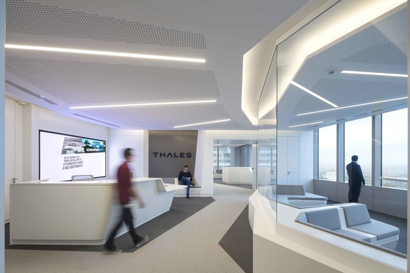 Press kit - Press release - Arte Charpentier Architectes designs and builds the new Thales head office in the Carpe Diem Tower, La Défense, Paris - Arte Charpentier Architectes